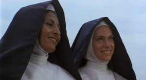 It's OK, we're Episcopal nuns.